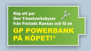 Få en powerbank!