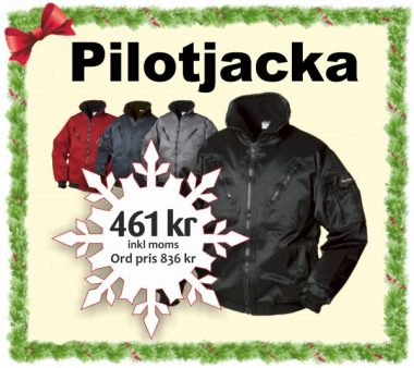 Pilotjacka från Top Swede